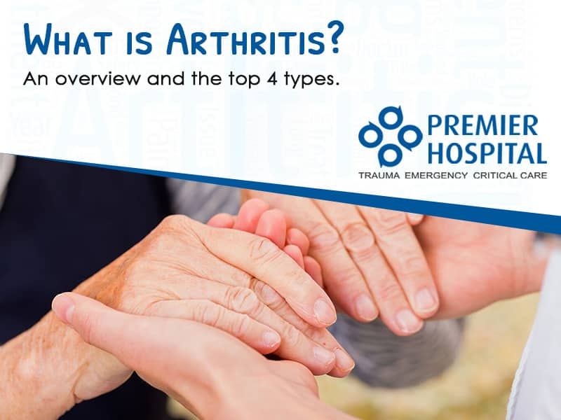 What is Arthritis? An overview and the top 4 types.
