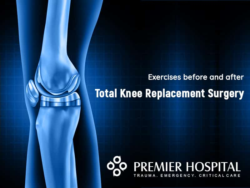 Exercises before and after a Total Knee Replacement Surgery