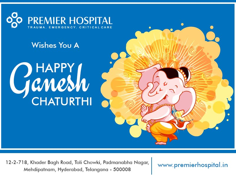Premier Hospital Wishes You A Happy Ganesh Chaturthi