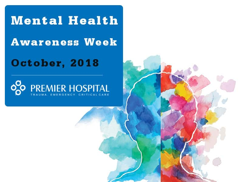 Mental Health Awareness Week October, 2018