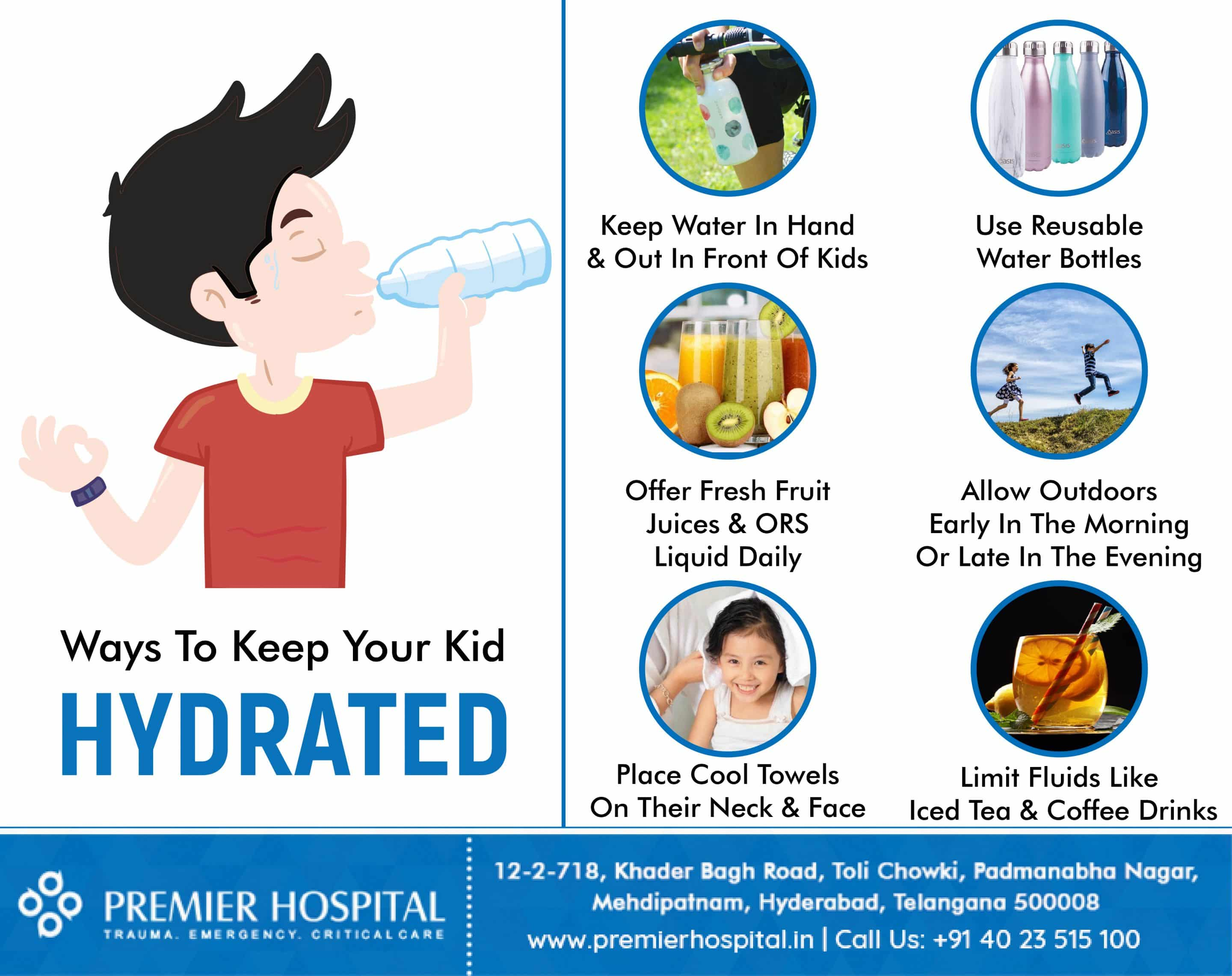 How to hydrate your kids in summer