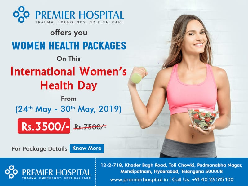 Discounted Women Health Packages At Premier Hospital