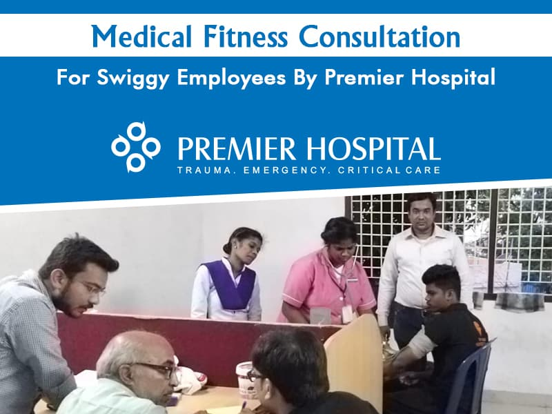 Medical Fitness Consultation For Swiggy