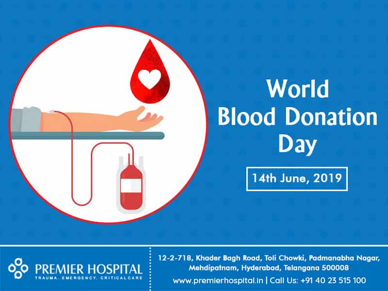 Donate Blood And Save Lives – Premier Hospital