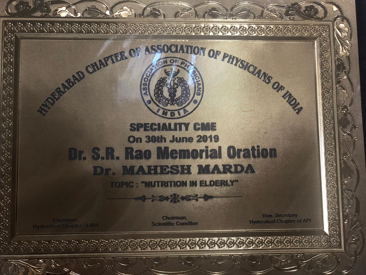 SPECIALITY CME - 2019 SCIENTIFIC PROGRAMME