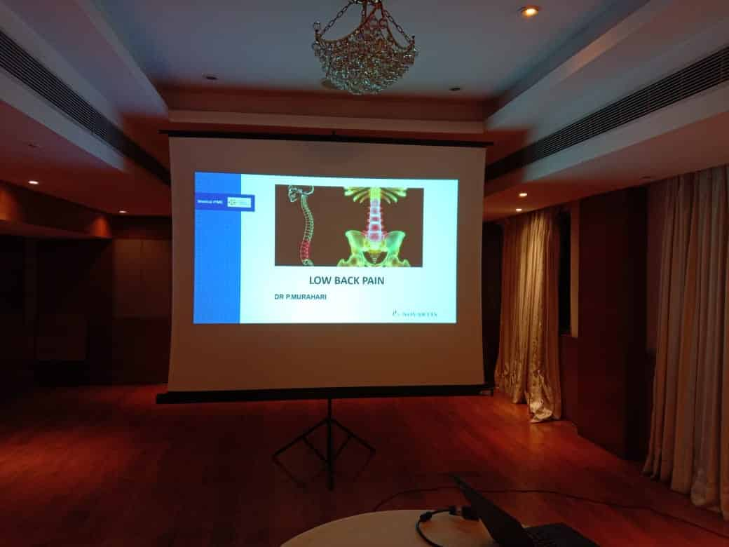 CME Program By Premier Hospital On Lower Back Pain Management