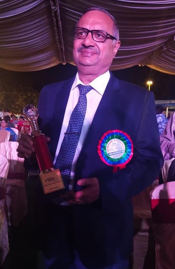 Dr. Mahesh Mardha Honoured With Vaidya Ratna Award - 2019