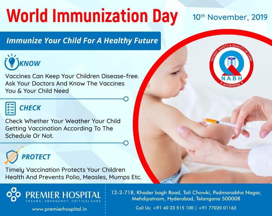 world immunization day premier