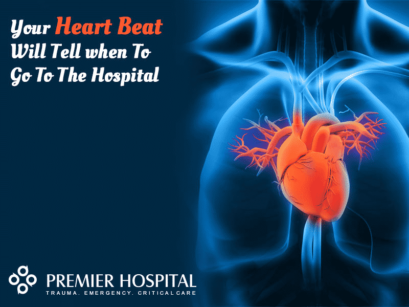 Your Heart Beat Will Tell when To Go To The Hospital