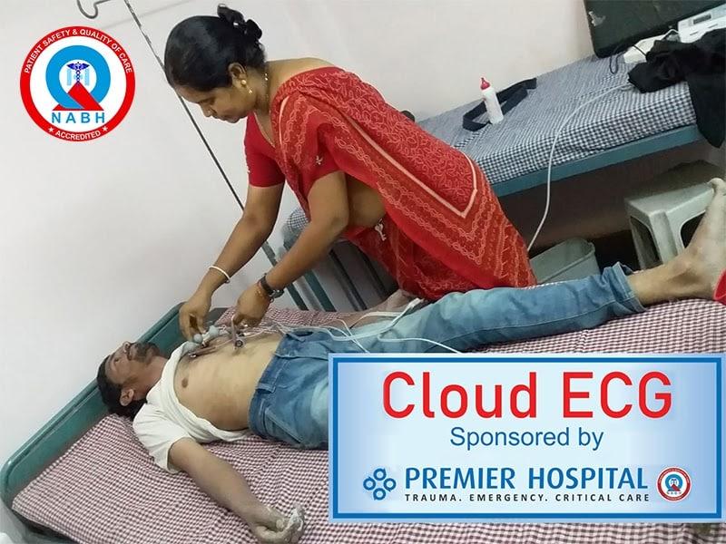 Cloud ECG Sponsored By Premier Hospital