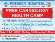 Free Cardiology Health Camp At Premier Hospital