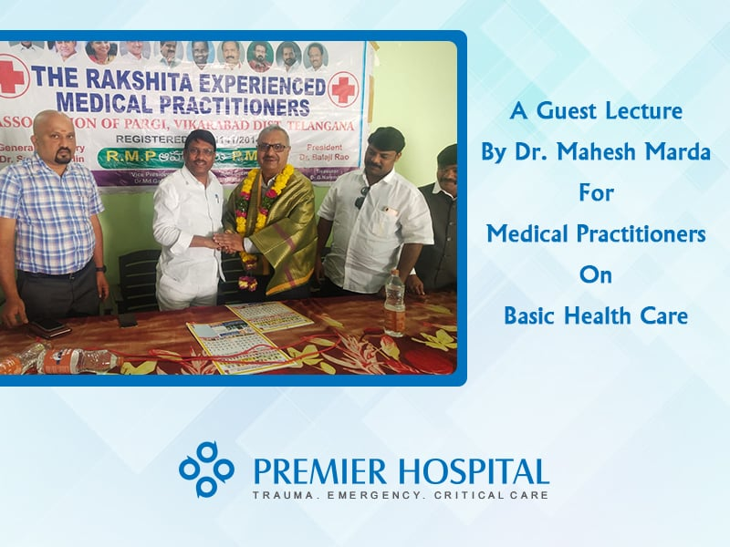 A Guest Lecture By Dr. Mahesh Marda For Medical Practitioners On Basic Health Care