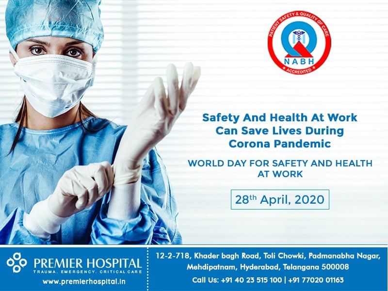 World Day For Safety And Health At Work, 28 April 2020