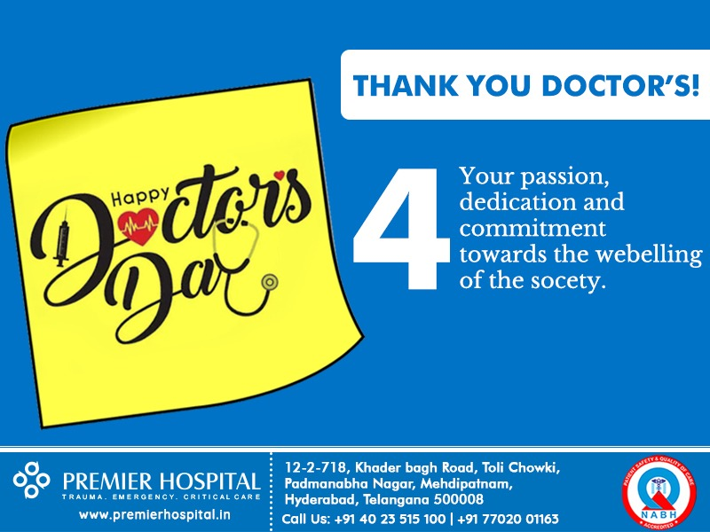 Happy Doctor's Day To All The Doctors For Your Valuable Services