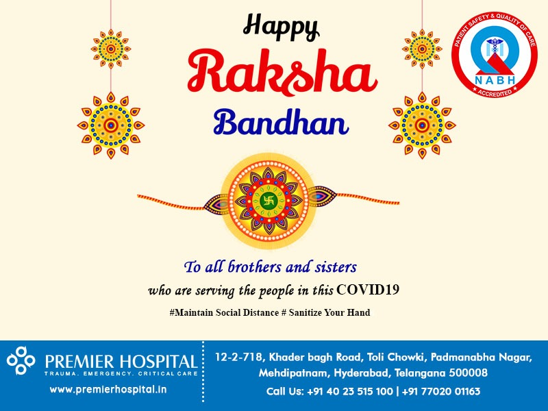 Happy Raksha Bandhan To All Brother & Sisters Who Are Serving People In This COVID19 Epidemic