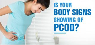 is your body signs showing of pcod