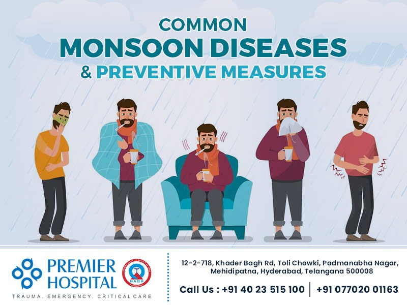 Common Monsoon Diseases And Preventive Measures