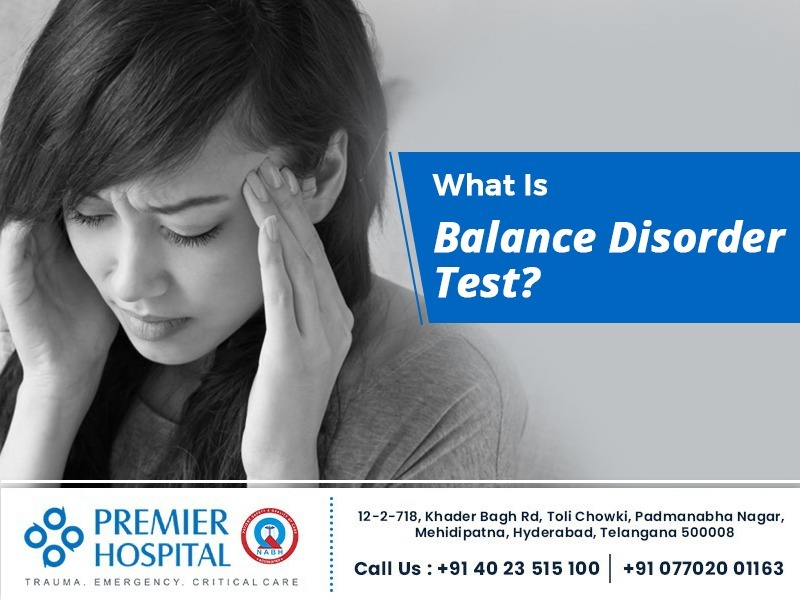 What is Balance Disorder Test?