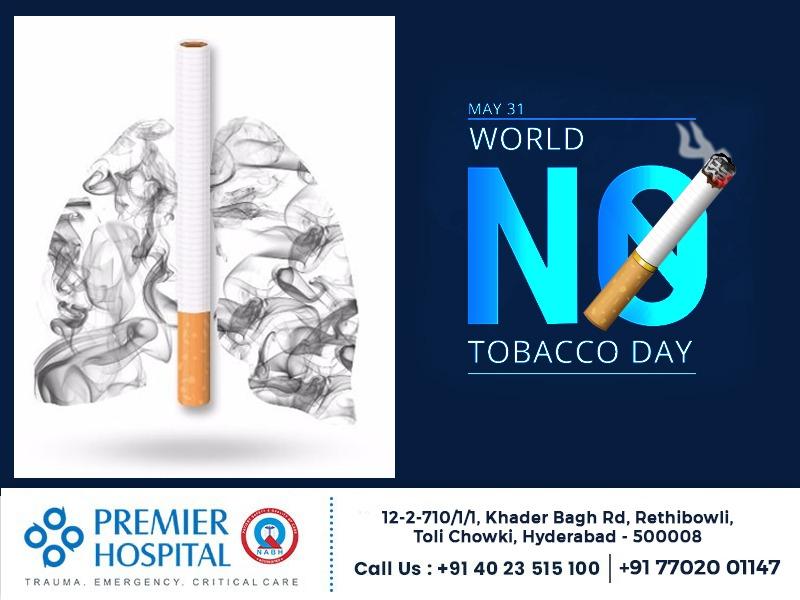 World No-Tobacco Day 2021 – May 31