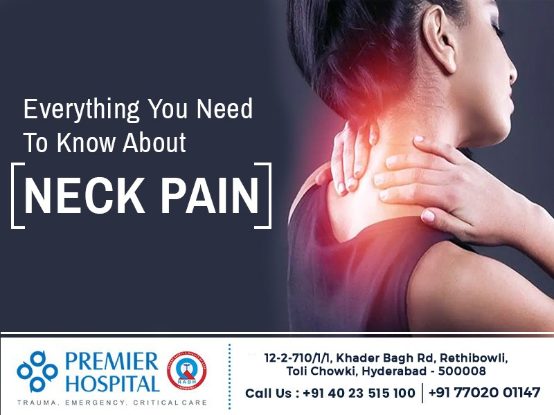 Everything you need to know about Neck Pain