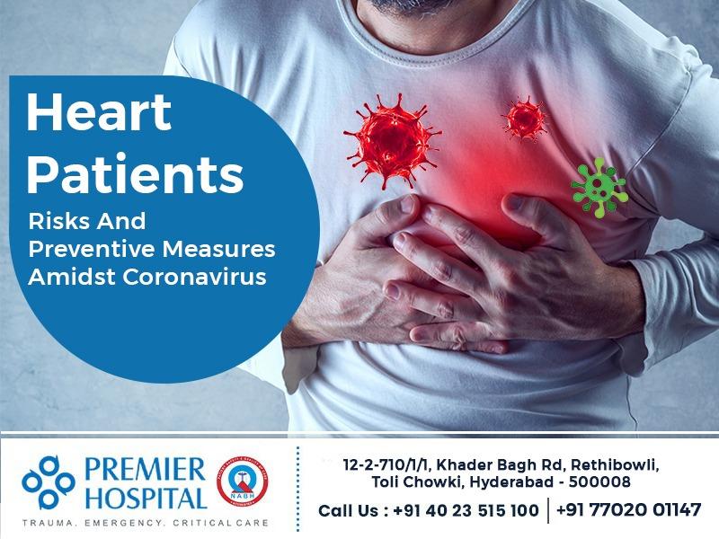 Heart Patients risks and preventive measures amidst Coronavirus